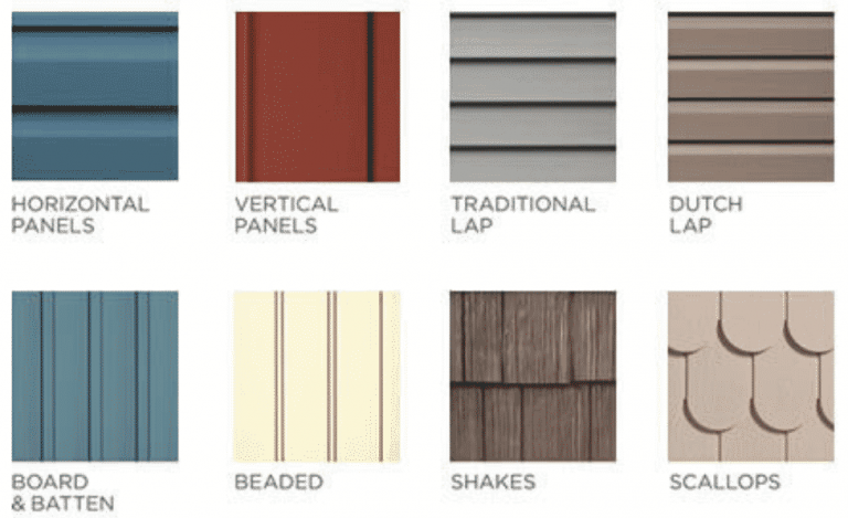 Your Guide To Various Styles Of Vinyl Siding